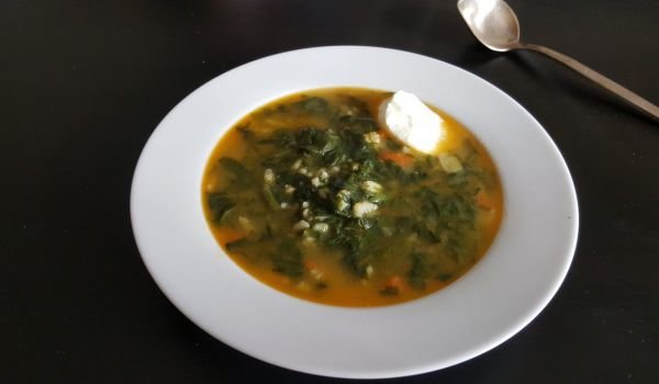Lean Soup with Spinach