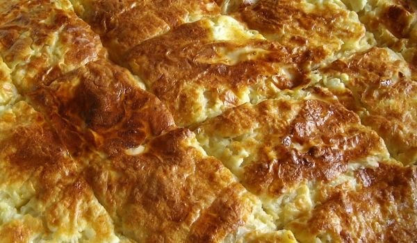 Phyllo Pastry Pie with Butter