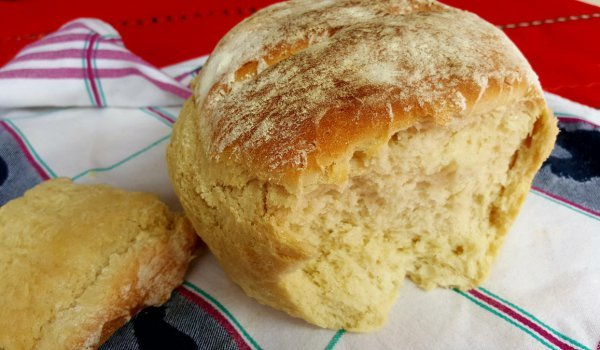 Fluffy Country-Style Bread