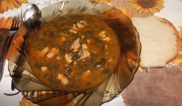 Chicken Stew with Dock