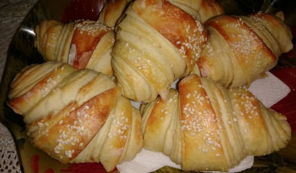 Croissants with Cream Cheese