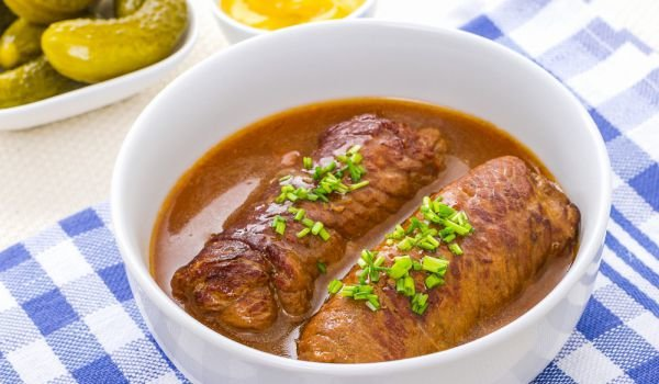 Veal Rouladen with Ham and Cheese