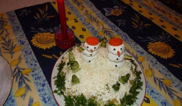 Winter Wonderland Salad