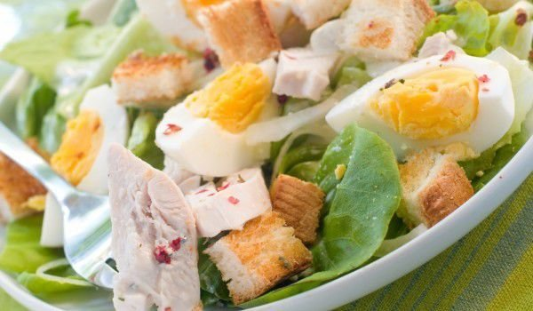 Nicoise Salad with Chicken