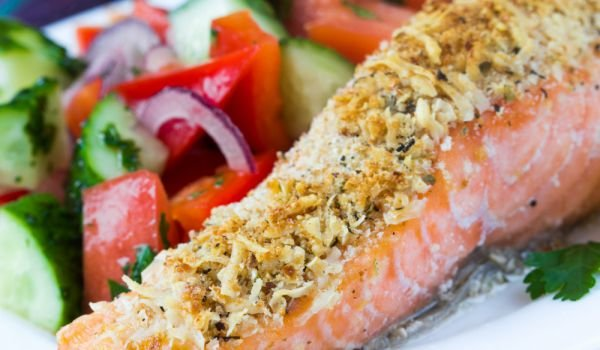 What Type of Garnish is Suitable for Salmon?