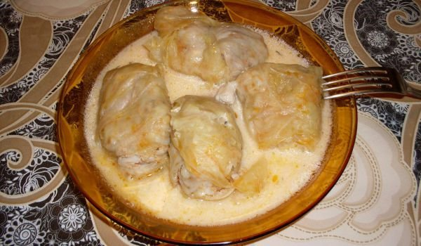Tasty Sarma with White Sauce