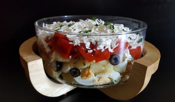 Country-Style Potato Salad