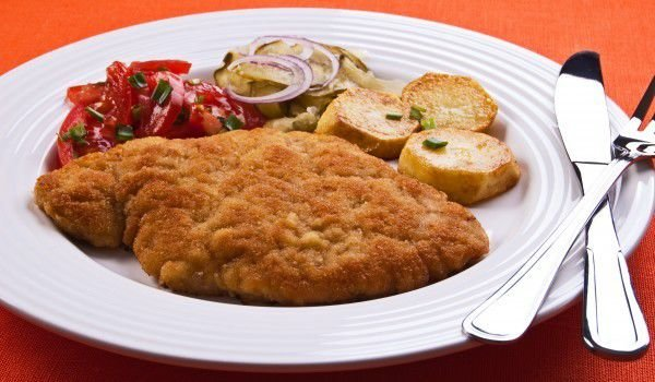 Swiss Schnitzel with Cheese
