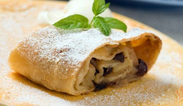 Fancy Apple Strudel
