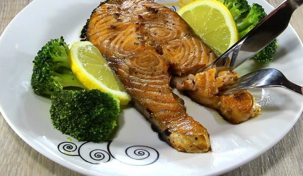 Salmon Cutlets in the Oven