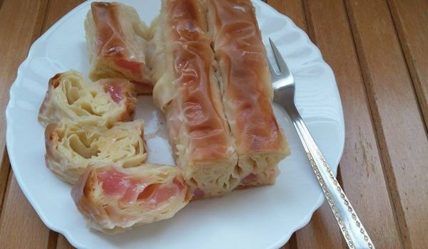 Fantastic Sweet Phyllo Pastry with Turkish Delight