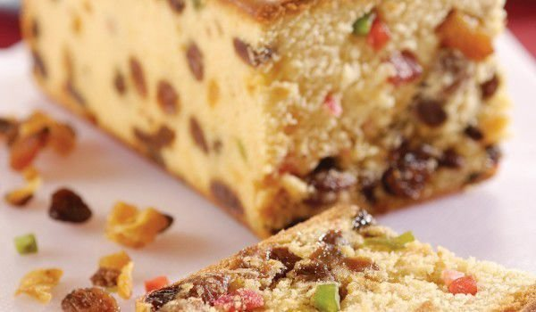 Fruit Cake with Walnuts