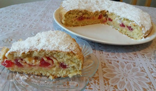Cake with Turkish Delight