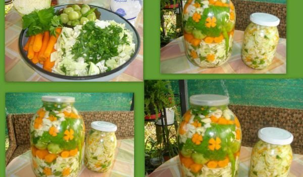 Mixed Country-Style Pickle