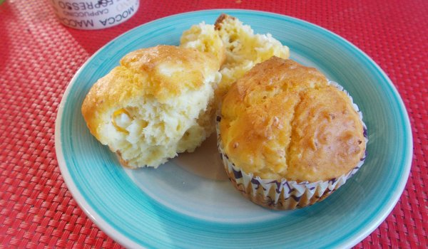 Cheese and Egg Savory Muffins