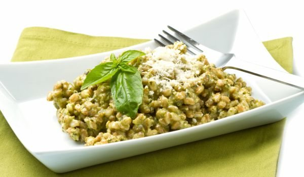 Spelt with Spinach