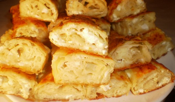 First-Rate Phyllo Pastry with Feta Cheese
