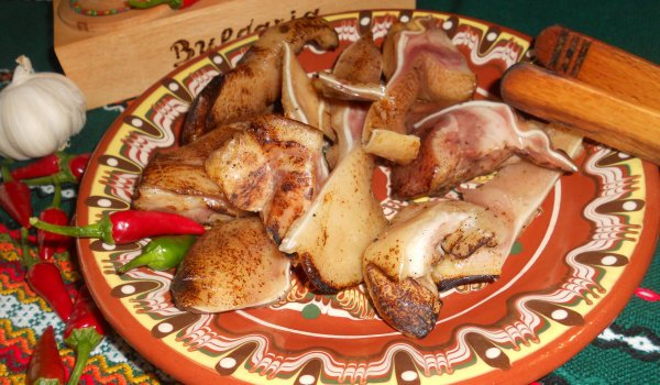 Grilled Pig Ears