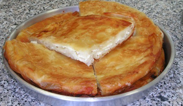 Buttered Phyllo Pastry