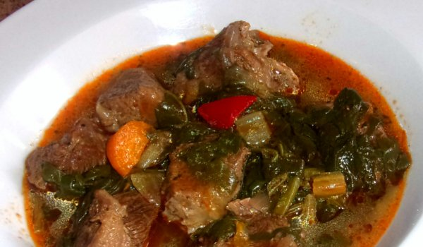 Beef and Spinach Stew