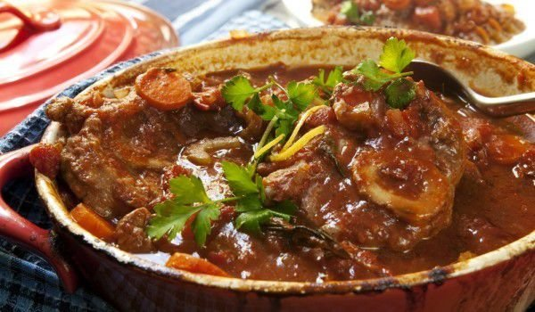 Veal with Red Wine - tastycraze.com