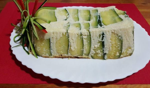 Zucchini and Chicken Fillet Terrine