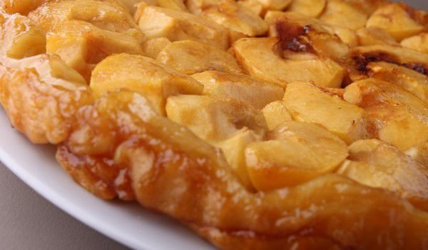 French Cake with Apples