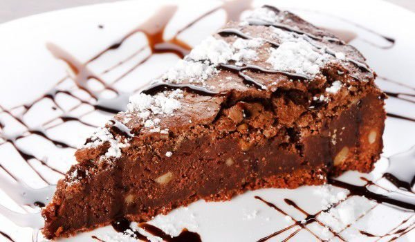Brownies with Caramelized Milk