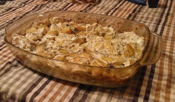 Sauteed Potatoes with Cream