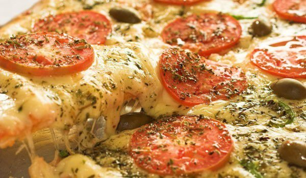 Pizza with Oregano