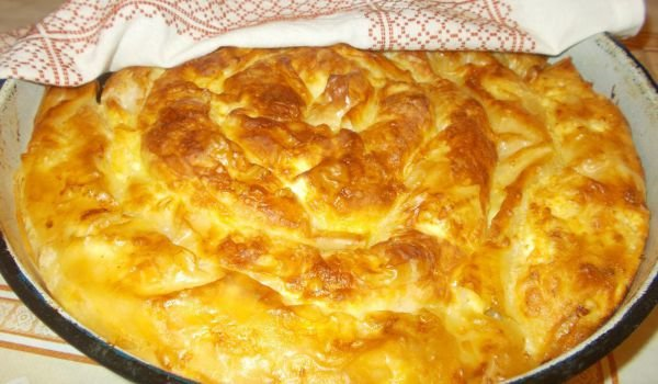 Feta Cheese Pie with Ready-Made Phyllo Pastry