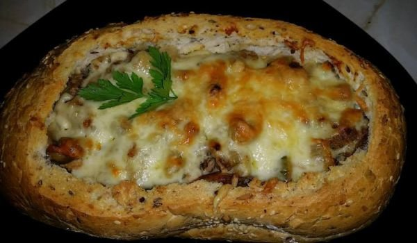 Tasty Stuffed Bread