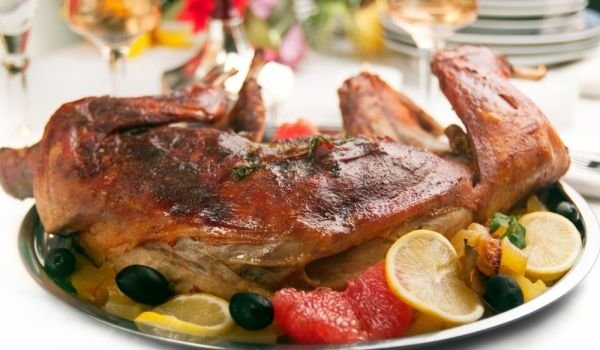 Roasted Whole Rabbit