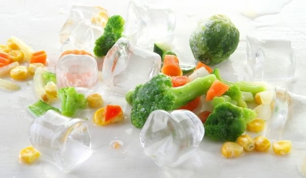 ice and Vegetables