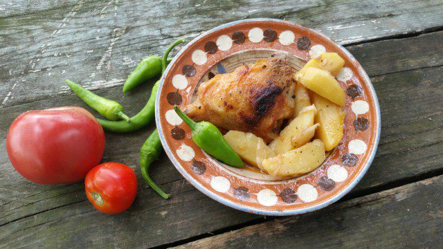 Beer Chicken with Potatoes