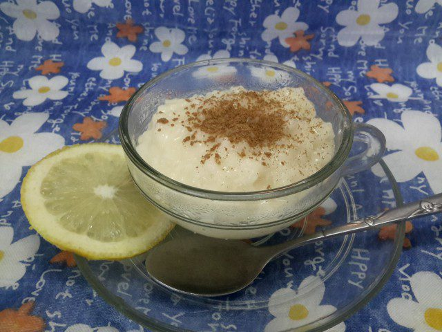 Portuguese-Style Milk with Rice