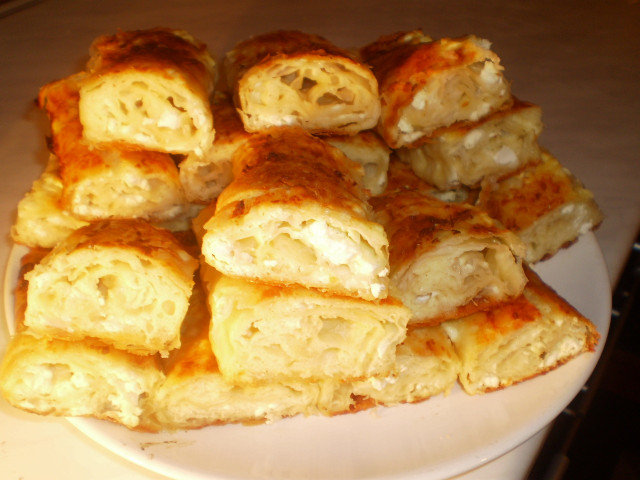 First-Rate Phyllo Pastry with Feta Cheese - Maria Simova