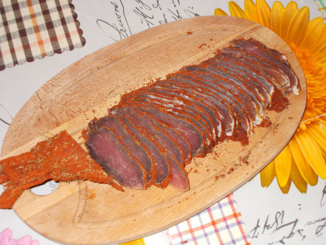 Dried Tenderloin with Lots of Spices