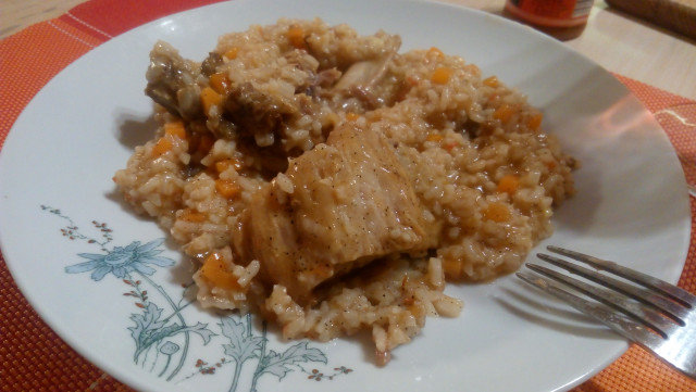 Stew with Rice and Pork