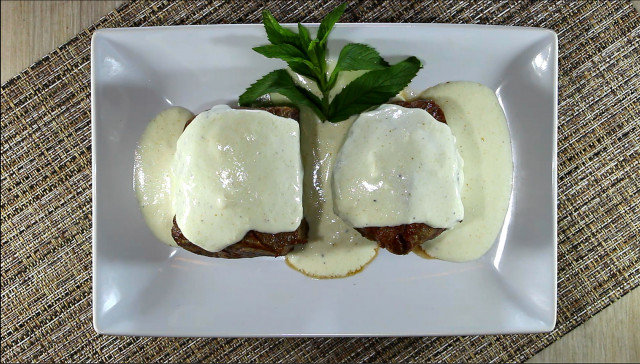 Tender Veal Steaks in the Oven